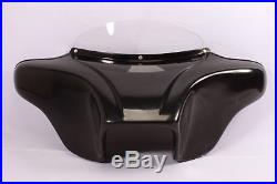 Harley Batwing Fairing Windshield 4 Touring Road King Glide Street Electra Ultra