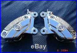 Harley Chrome Brembo Calipers 4 Road King 08-19 Street Glide Ultra 42012-06A