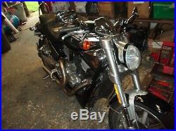 Harley Davidson 2005 Vrscr Street Rod Frame Chassis 16,239 Miles Black
