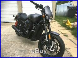 Harley Davidson 750 Street Rod. Only 2100 miles. Stage 1 tuned. Delivery