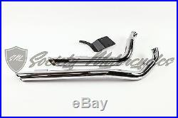 Harley-Davidson Drag Street Sweeper Dyna Exhaust System 2-1/4 Straight Pipes HD