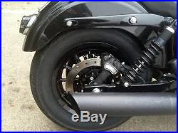 Harley Davidson Dyna Glide Street BoB Wheels Black Is Back 13 Spoke we install