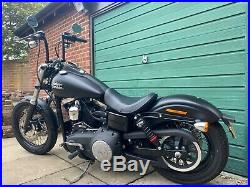 Harley Davidson Dyna Street Bob 2015