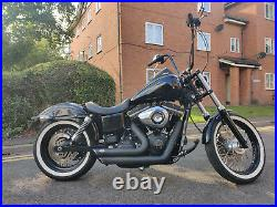 Harley-Davidson Dyna street bob 1690 fxdb 2015