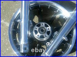 Harley Davidson Electra Glide Road Street Glide Lower Fork Legs POLISHED 00-2013