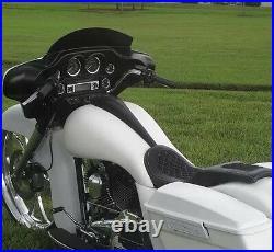 Harley Davidson Extended Street Road Glide 6 Gallon Tank Shrouds & Dash Flh