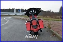 Harley-Davidson FLHX Street Glide Bagger 21 Motor CNC Red Hot Sunglo&Black
