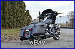 Harley-Davidson FLHXS Street Glide Special 2014 ABS Navi Grey Matt Vance&Hines
