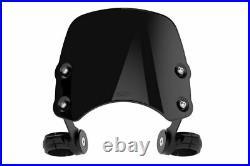 Harley-Davidson FXDB Street Bob Dart Piranha Flyscreen in Midnight Black