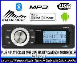 Harley-Davidson Plug-N-Play Bluetooth Radio Street Glide FLHX 2006-2013