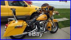 Harley Davidson Saddle bags Saddlebags Touring Road King Street Electra Glide