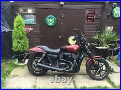Harley Davidson Street 750XG plus extras 2016 5605 miles