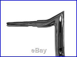 Harley Davidson Street Glide Ape Hangers Chrome 12 Meathook Monkeybars