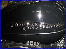 Harley Davidson Street Glide Flhx Chrome Tank Emblems Nameplate Badge Medallions