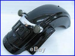 Harley-Davidson Street Glide Rear Fender & Fascia & Lights Vivid Black #8863