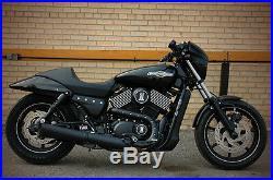 Harley Street 500 Xg500 11 Lowering Shocks Lowering Kit Black & Chrome 11 Inch