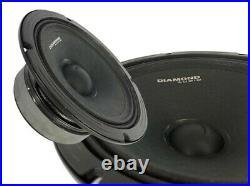 Harley Street Glide Diamond Audio Pro Speaker Kit Includes Mspro65 + Mo75t Horns