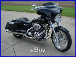 Harley Touring Street Glide Flhx Road Glide Bagger Front Fender For 21x3.5 Wheel