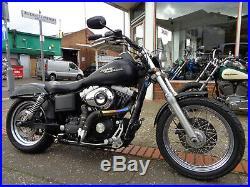 Harley-davidson Fxdbi Dyna Street Bob. 2008. Bobber Project