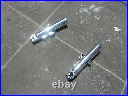 Harley lower legs front forks STREET GLIDE POLISHED NO EXCHANGE 2014-2020 SALE