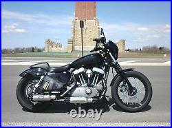 Harley universal slip on muffler Tailgunner Exhaust street custom rod bobber tip