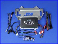 J&M Rokker XXRP 700 Watt 4 Channel Programmable Amp Kit Harley Street Glide 14+