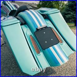 Koffer-Fender Set STRECHED EXTENDED 7 Harley-Davidson Street Glide 1996 2013