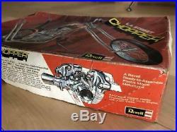 L. A. Street Chopper Revell Harley Knucklehead 1971 Vintage Model Motorcycle Kit