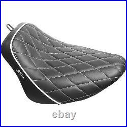 LE PERA LYB-007DMWTP Bare Bones Solo Seat Harley-Davidson Softail Breakout F