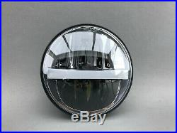 LED Scheinwerfer 5,75 E-Nummer Schwarz
