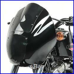 Lampenmaske Q1 für Harley Softail Street Bob/ Low Rider dunkel