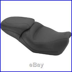 Mustang 1 Piece Vintage Black Touring 2-up Seat Harley Street XG 500 750 76421