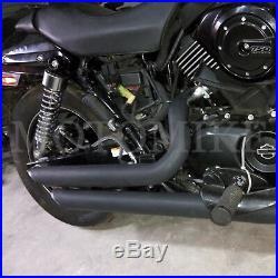 NEW Shortshots Staggered Exhaust System For Harley Davison Street XG500 XG750