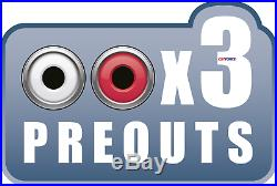 Plug And Play For 98-13 Harley Marine Kenwood CD Bluetooth Usb Stereo Pkg Opt XM