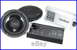 ROCKFORD FOSGATE HD14-TKIT POWER HARLEY DAVIDSON STREET Road GLIDE FRONT AUDIO