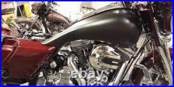Road glide Street Glide Stretched 6 Gallon Tank & Dash Panel Harley Davidson