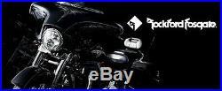 Rockford Fosgate 6 Speakers Harley Flhx Street Glide Flhxxx Tri-glide 06-13