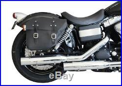 Satteltasche rechts 12L Harley Dyna Fat Bob Street Bob (bis 2017) Buffalo Bag