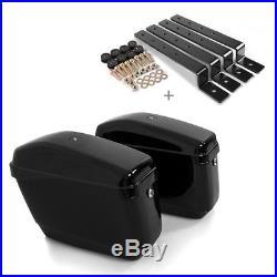 Seitenkoffer CNV für Harley Dyna Fat Bob/Low Rider/S/Street Bob/Super Glide