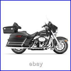 Seitenkoffer Stretched für Harley Davidson CVO Street Glide 14-20 schwarz matt