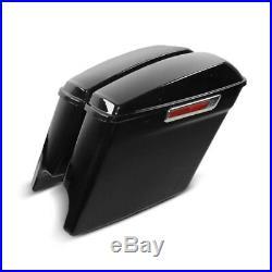 Seitenkoffer Stretched für Harley Davidson Electra/Road/King/Street Glide/ 14-19