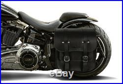 Seitlicher Kennzeichenhalter 180x200mm Harley Street Bob FXBB 2018- Zulassung