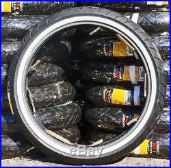 Shinko 120/70-21 White Wall Front Tire Harley Flhx Street Glide Flhr Road King