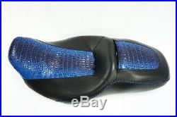 Street Glide HARLEY Seat Cover P52320-11 Glossy Blue Gator 2008-2019 COVER ONLY