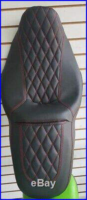 Street Glide HARLEY Seat Cover Red Stitching P52320-11, 2008-2018 COVER ONLY