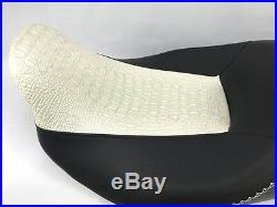 Street Glide HARLEY Touring Seat Cover # P52320-11, WHITE 2008-2018 COVER ONLY