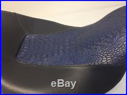 Street Glide HARLEY Touring Seat P52320-11, Blue Gator 2008-2017 COVER ONLY