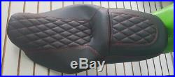 Street Glide HARLEY Touring Seat P52320-11, Red Stitching 2008-2018 COVER ONLY
