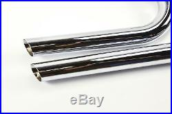 Street Sweeper Exhaust System Harley-Davidson Dyna FXD 2-1/4 Straight Pipes HD