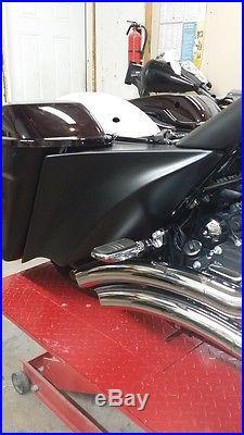 Stretched Side Cover Roadking Street, Road Glide 2014-15 Harley Davidson FLH